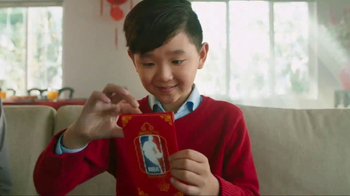 NBA TV Spot, 'Chinese New Year Secret Envelope' Ft. Jeremy Lin, Steph Curry - Thumbnail 2