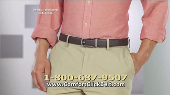 Comfort Click Belt TV Spot, \'Just Right\'