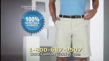Comfort Click Belt TV Spot, 'Just Right' - Thumbnail 9