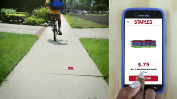 Staples TV Spot, 'Back-to-School Sanity Saver'