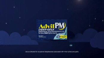 Advil PM TV Spot, 'Fact: Lying Awake' - Thumbnail 4