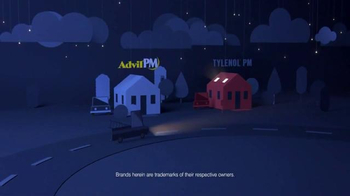 Advil PM TV Spot, 'Fact: Lying Awake' - Thumbnail 2