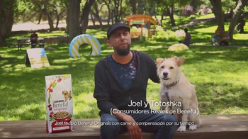 Purina Beneful Originals TV Spot, 'Joel y Totoshka' [Spanish]