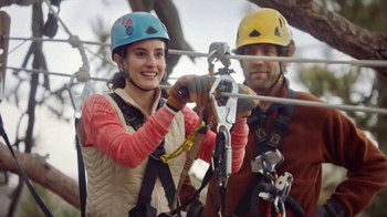 Navy Federal Credit Union App TV Spot, 'Zip Line'
