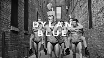 Versace Dylan Blue TV Spot, 'Pour Homme' Featuring Gigi Hadid, Alan Jouban