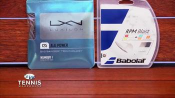 Tennis Warehouse TV Spot, 'Gear Up: Tennis Strings'