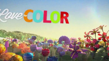 Sherwin-Williams Love for Color Sale TV Spot, 'Fields of Flowers'