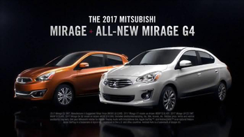 2017 Mitsubishi Mirage & Mirage G4 TV Spot, \'Small Breakthrough\'