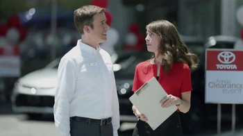Toyota Annual Clearance Event TV Spot, 'Not For Long' - 1 commercial airings