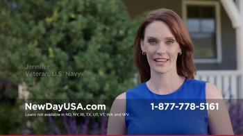 New Day USA VA Loan TV Commercial, 'Veteran Homeowner' - iSpot.tv