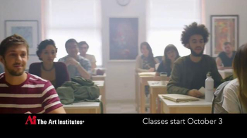 The Art Institutes TV Spot, 'Opinions: Art Grant'