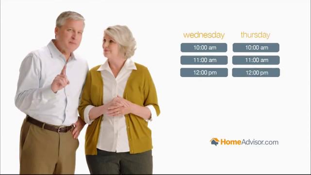 Homeadvisor Tv Commercial Happy Homeowners Featuring