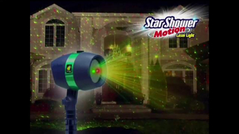Star Shower Motion TV Spot, 'Holidays Come to Life'