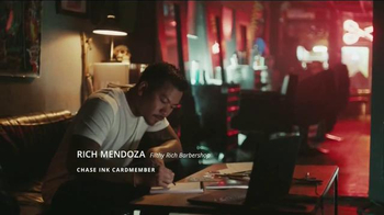 Chase Ink Plus TV Spot, '60,000 Points Helped This Shop Grow A Mustache' - Thumbnail 2