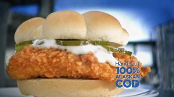 Long John Silver's Coastal Cod Sandwich TV Spot, 'A Real Fish Sandwich'