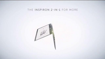 Dell Inspiron 2-in-1 TV Spot, 'Versatility and Wow-Ability'