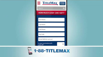 TitleMax TV Spot, 'The Amount You Need'