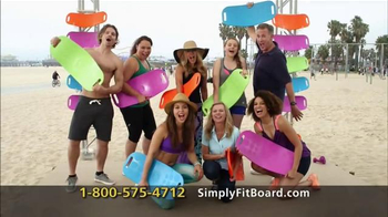 Simply Fit Board TV Spot, \'Fun Workout\' Featuring Lori Greiner