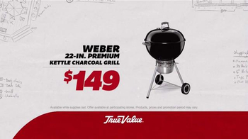 True Value Hardware TV Spot, 'Patio Set, Charcoal Grill and Tool Set'
