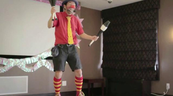 CreditCards.com TV Spot, 'Business Causal Birthday Clown'