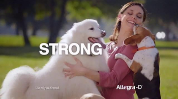 Allegra-D TV Spot, \'Dogs\'