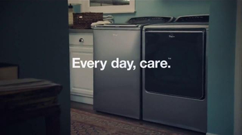Whirlpool TV Spot, 'Every Day, Care: Messy Laundry' - Thumbnail 9