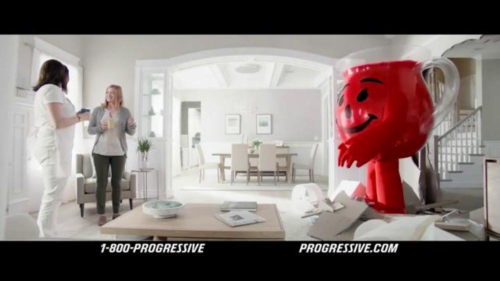 Liberty Mutual Auto Insurance >> Progressive TV Commercial, 'Kool-Aid Man' - iSpot.tv