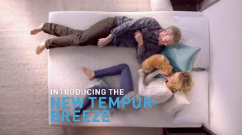 Tempur-Pedic TEMPUR-Breeze TV Spot, 'It's a Breeze'