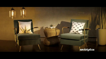 Society6 TV Spot, 'Shop for One-of-a-Kind Home Decor' Song by Galantis
