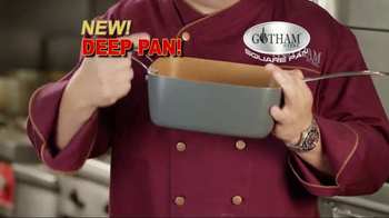 Gotham Steel Square Pan TV Spot, 'Deep Dish Square Pan'