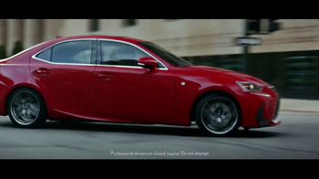 Lexus Command Performance Sales Event TV Spot, 'Power and Precision'