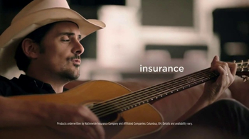 Nationwide Insurance TV Spot, 'A New Song for All Your Sides: Brad Paisley' - Thumbnail 7