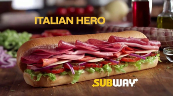 Subway Italian Hero TV Spot, 'Auténtico' [Spanish]