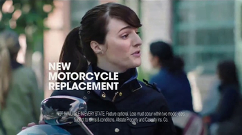 Allstate Motorcycle TV Spot, 'Second Husband'
