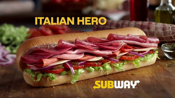 Subway Italian Hero TV Spot, \'Authentic\'