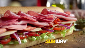 Subway Italian Hero TV Spot, 'Authentic' - Thumbnail 2