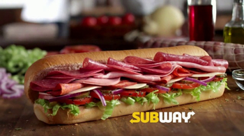 Subway Italian Hero TV Spot, 'Authentic' - Thumbnail 3