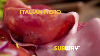 Subway Italian Hero TV Spot, 'Authentic' - Thumbnail 5