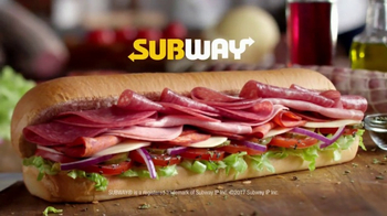 Subway Italian Hero TV Spot, 'Authentic' - Thumbnail 8
