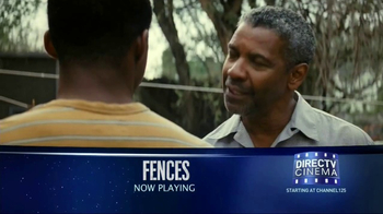 DIRECTV Cinema TV Spot, 'Fences'