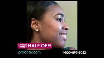 Proactiv TV Spot, 'Don't Hold Back: Half Off'
