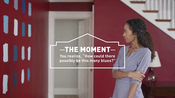 Lowe\'s TV Spot, \'The Moment: Blue Paint and Primer\'