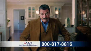 AAG Reverse Mortgage TV Spot, 'Three Legs of Retirement' Feat.Tom Selleck