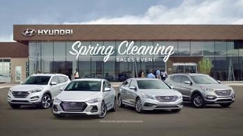 Hyundai Spring Cleaning Sales Event TV Spot, '2017 Santa Fe Sport: Savings'