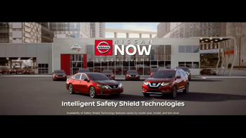 Nissan Now Sales Event TV Spot, 'Safety: 2017 Rogue'