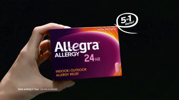 Allegra 24 Hour Allergy TV Spot, 'Indoor & Outdoor'
