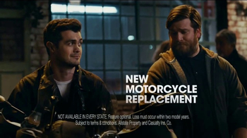Allstate Motorcycle TV Spot, 'Helmet'