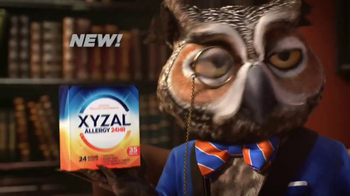 XYZAL Allergy 24HR TV Spot, 'A Word to the Wise'