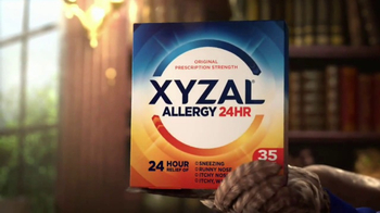 XYZAL Allergy 24HR TV Spot, 'A Word to the Wise' - Thumbnail 5