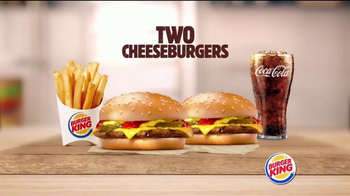 Burger King TV Spot, 'Big Deal on a Bigger Meal'